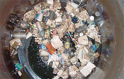 CDS Technologies System Collects Trash